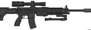 PMG- Spec. Apps. M119 Rifle by WMDiscovery93