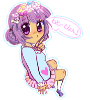 001 by pyon-pop