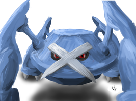 Metagross by Zaemii