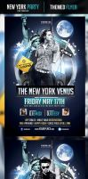 The New York Venus Flyer Template by odindesign