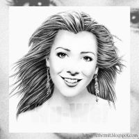 Alyson Hannigan Portrait by whu-wei