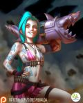 Jinx League of Legends by Didi-Esmeralda