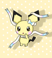Sylvia the pichu by poke-helioptile294