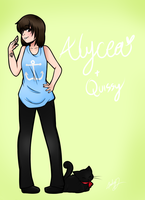 Art Trade with Alycea by AlphaStars