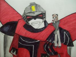 Arks and the Emo Panda by Sarah-shockS