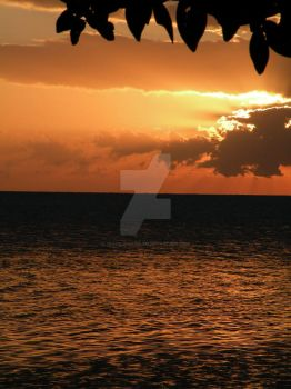 belize, sudoamerica: sunset. by troubleinharlem
