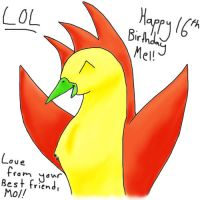 Happy Birthday Melon by moltres93