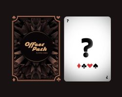 Offset Path Playing Cards by offsetpath