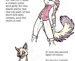 Colored Pencil Tutorial by f0xyme
