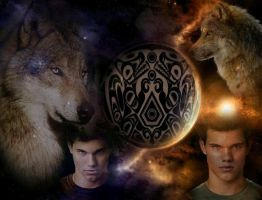 Jacob Black Wallpaper by LuluDarling