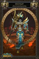 WoW Poster - Priest Tier 2 by LadyYui