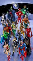 JLA 2008 by timothylaskey