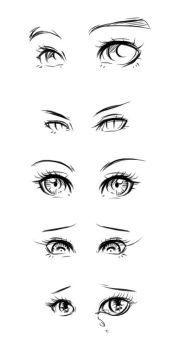 eye design tutorial by ryky
