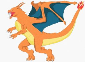 Charizard by chambs