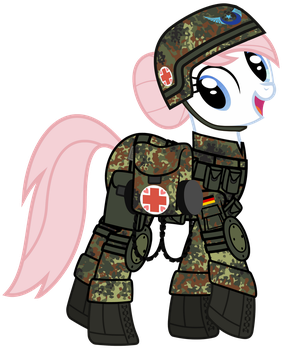 Nurse Redheart is ready for battle! by NightMareNight90