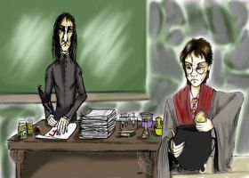 Detention Mr Potter by AllOutOfBubblegum