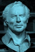 bust of father by sculptorandpainter