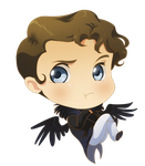 .: Chibi Lord Byron :. by PirateHearts