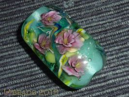 Meas Rose by lalibeads