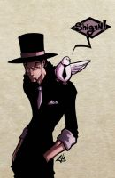 Day 24-Rob Lucci by G-Chris