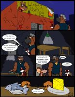 Comic commission: Chow Hound The Untold Story 5 by CaseyLJones