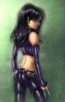 X-23 Colored by JamieFayX