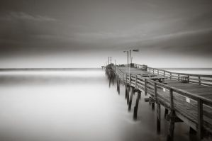 Nags Head Pier 3 by CharlesWb
