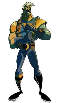 BZ-B's Cable by kerfufflecolor