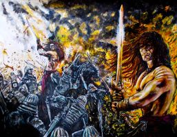 conan the barbarian by FDupain