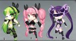 Original Vocaloid Girls Adopts [CLOSED] by VanillaCakeAdopts