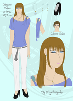 .::Unmei Mrs. Takase Ref::. by AngelMiyoko