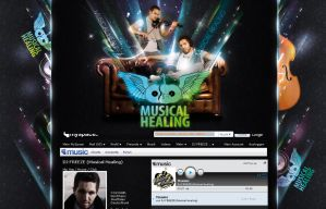 Musical Healing Myspace by homeaffairs