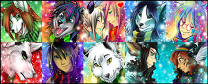Winter Icon Comm - Batch 4 by Majime
