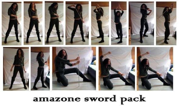 Amazone Sword Pak-syccas-stock by ActionStock
