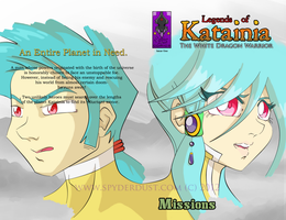 Legends of Katainia: Issue One Cover by TheSpyderDuster
