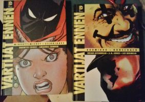 My Before watchmen comic books by Tipsutora