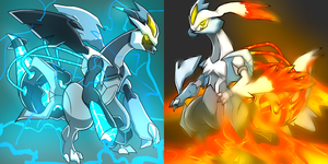 Pokemon Challenge - Black/White Kyurem by SkyTheLugia