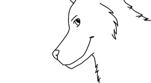 Canine Lineart Free by lucidcoyote