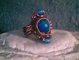 Skyberries - Adjustable Ring by Carmabal