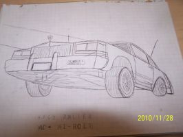 Auto sketches WB low rider by coonk9