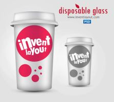 Disposable Glass PSD by atifarshad