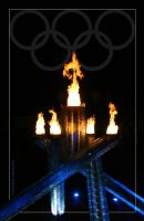 Olympic Cauldron. by Bleezer