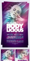 Boodylicious Flyer by EAMejia