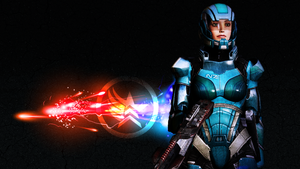 Mass Effect 3 - Shepard by Onlystar