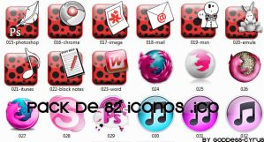 Pack de 82 iconos .ico by Goddess-Cyrus
