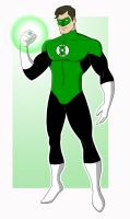 Green Lantern by EadgeArt