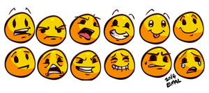 some emoticons by hummeri9