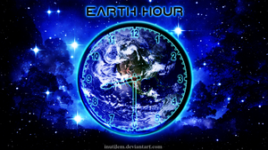 Earth Hour by inutilem