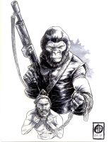 Planet of the Apes by BrettBarkley