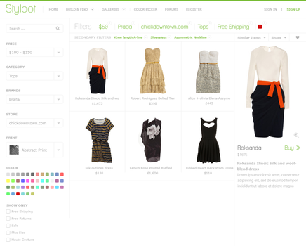 Styloot Shop - First Design by eXPerienceARTS